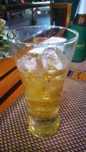 シンハービール 氷入り